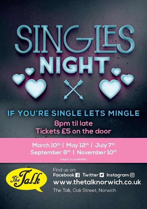 singles nights norwich