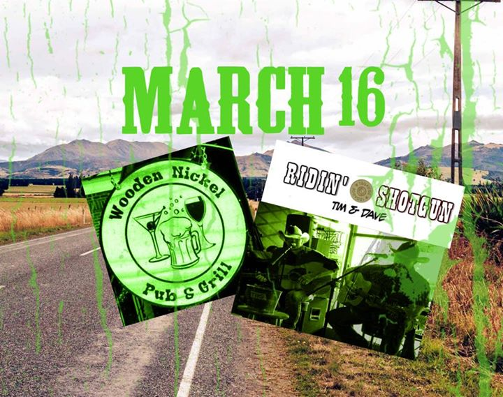Ridin Shotgun To The Nickel Pre St Pats At The Wooden Nickel Pub
