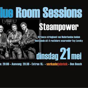 Steampower Blue Room Sessions Verkadefabriek Den Bosch NL