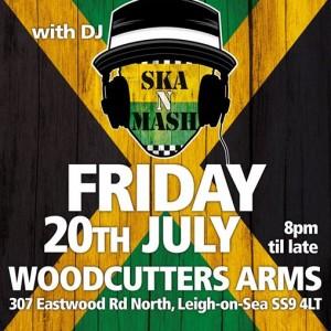 Ska N Mash at Woodcutters Arms