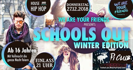 WE ARE YOUR FRIENDS pres. WINTER EDITION  16  Pi CLUB