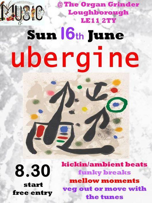 Ubergine play Loughborough   Loughborough