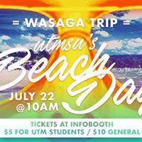 UTMSU Presents Trip to Wasaga