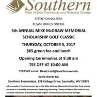 5th Annual Mike McGraw Memorial Scholarship Golf Classic