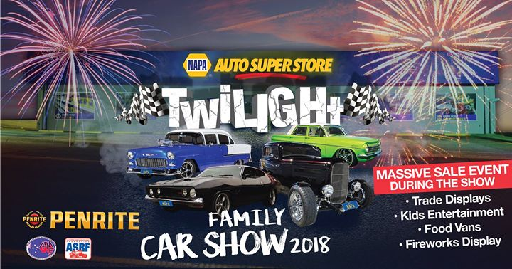 Twilight Family Car Show At NAPA Auto Super Store Logan City Slacks - Car show displays for sale