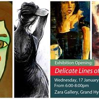 Exhibition Opening &quotDelicate Lines of Strength&quot