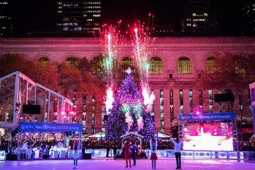 Tree Lighting Skate-tacular