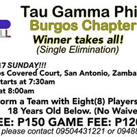ODL Basketball - Tau Gamma Phi Burgos Chapter