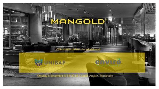 Investerarkväll | Unibap och Scandinavian Enviro Systems at Scandic