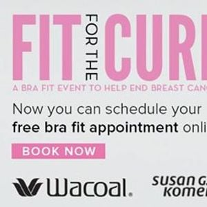 c376aa3051bd2 Wacoal - Fit for the Cure Event at Dillards Manhattan