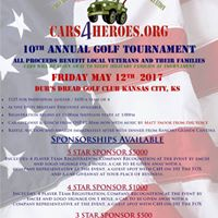 Cars 4 Heroes 10th Annual Golf Tournament