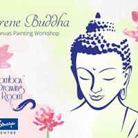 Serene Buddha - Canvas Painting Workshop