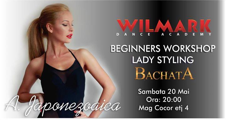 Beginners Workshop  Lady Styling  Bachata