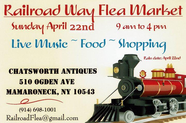 Railroad Way Flea Market  Sunday April 22nd