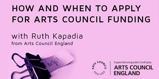 How and when to apply for Council Funding with Ruth Kapedia from Arts...