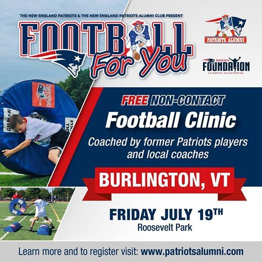Burlington VT - Football For You 2019