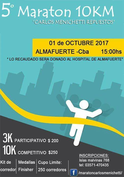 5 Maratn 10 Kms. Carlos Menichetti