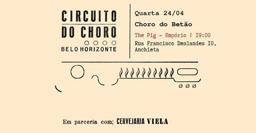 Festival Circuito do Choro BH - Choro do Beto