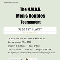 NMBN Mens Doubles Tournament