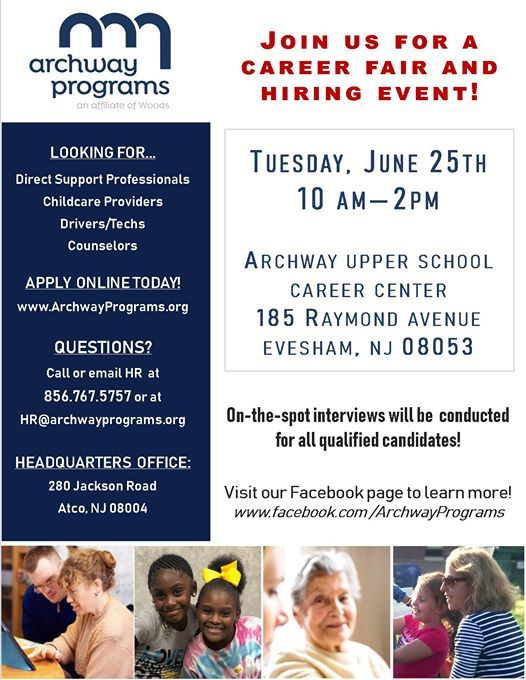Archway Career Fair + Hiring Event at Archway Upper School: Career