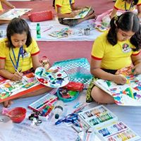 BTC Art competition for students in Bogra
