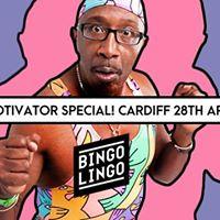 Bingo Lingo Mr. Motivator - Spandex Special