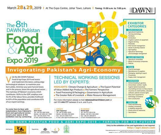 DAWN Pakistan Food & Agri Expo 2019