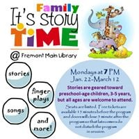 Family Storytime (Winter Session)