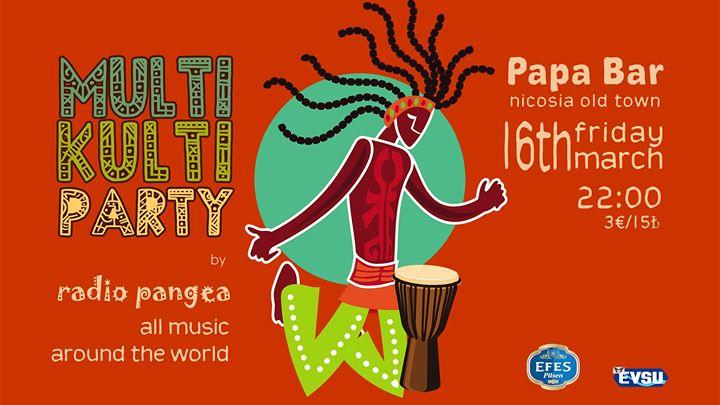 MultiKulti Party by Radio Pangea Papa Bar