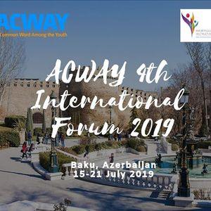 4th ACWAY International Forum 2019