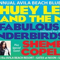 The &quot25th Annual Avila Beach Blues Festival&quot