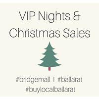 VIP Nights &amp Christmas Sales