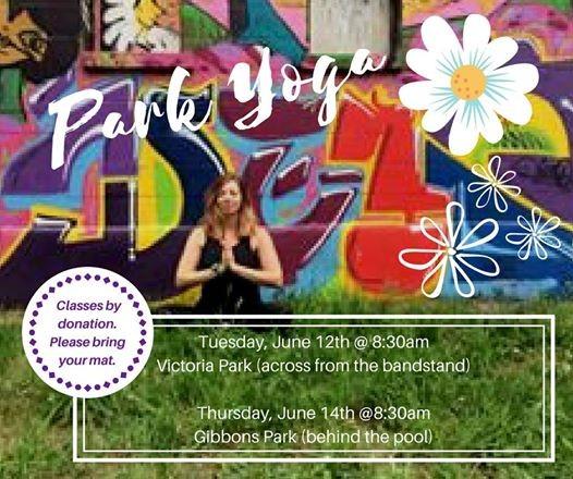 Thursday June 14th Gibbons Park Yoga