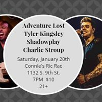 Adventure Lost Tyler Kingsley Shadowplay and Charlie Stroup