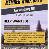 Member Work Day 1