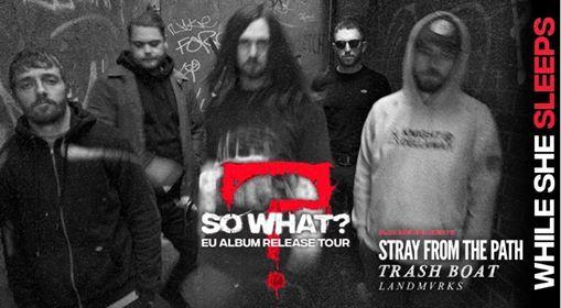 While She Sleeps - So What Album Release Tour 2019  Stuttgart