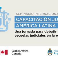 Seminario Internacional Capacitacin Judicial en Amrica Latina