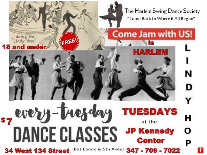 Image result for the harlem swing dance society logo