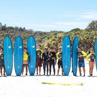 Long Weekend Surf Camp (Byron Spring brook surf class)