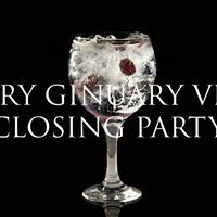 Dry Ginuary VIP Closing Party
