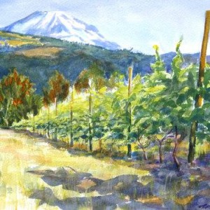 Wine &amp Watercolor