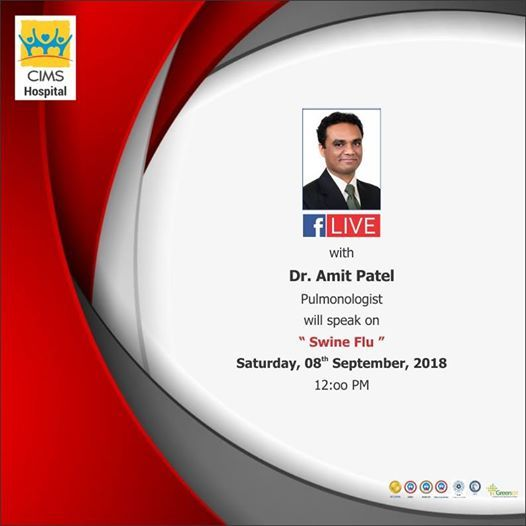 Facebook live session with Dr  Amit Patel at CIMS Hospital