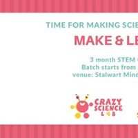 Crazy Science Lab 3 month course