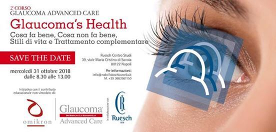 SAVE THE DATE Glaucoma Healt