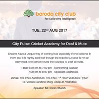 City Pulse Cricket Academy for deaf and mute