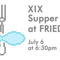 Community Supper XIX at FRIEDA
