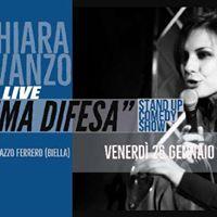 Chiara Avanzo Live  Legittima Difesa
