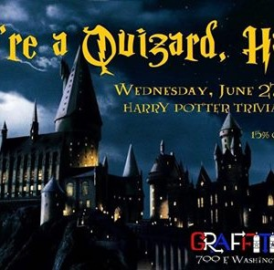 Harry Potter Trivia Night at Graffiti Junktion