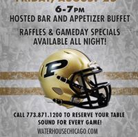 Purdue Football KickOff Party - Free Hour of bar and apps