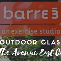 Free outdoor Barre3 class at The Avenue East Cobb